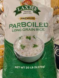 LAXMI PREMIUM PARBOILED LONG GRAIN RICE