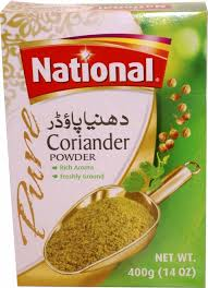 NATIONAL CORIANDER POWDER 400G