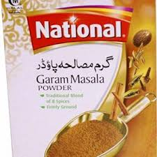 NATIONAL GARAM MASALA POWDER 110G