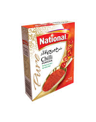 NATIONAL RED CHILLI POWDER 400G