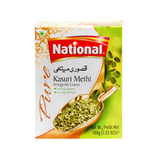 NATIONAL KASURI METHI  LEAVES 100G