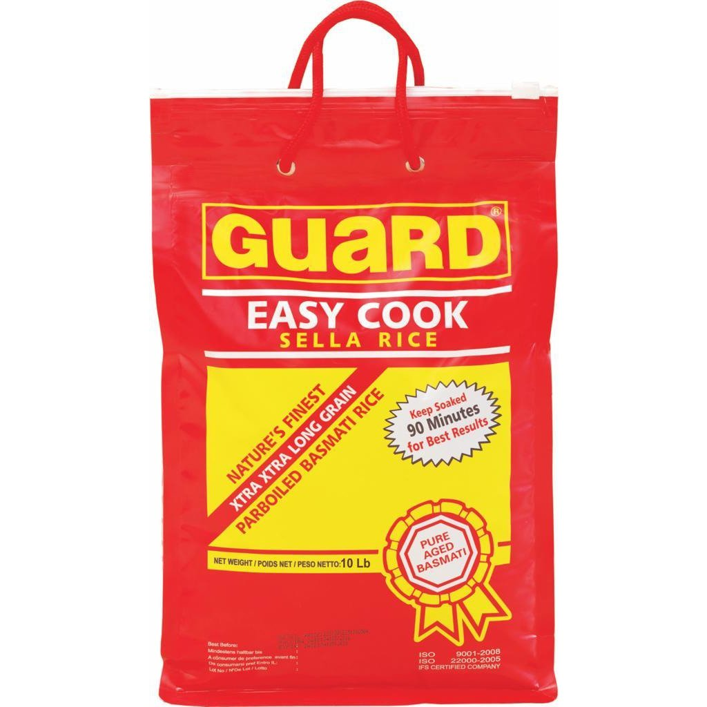 GUARD SELLA BASMATI RICE10LB