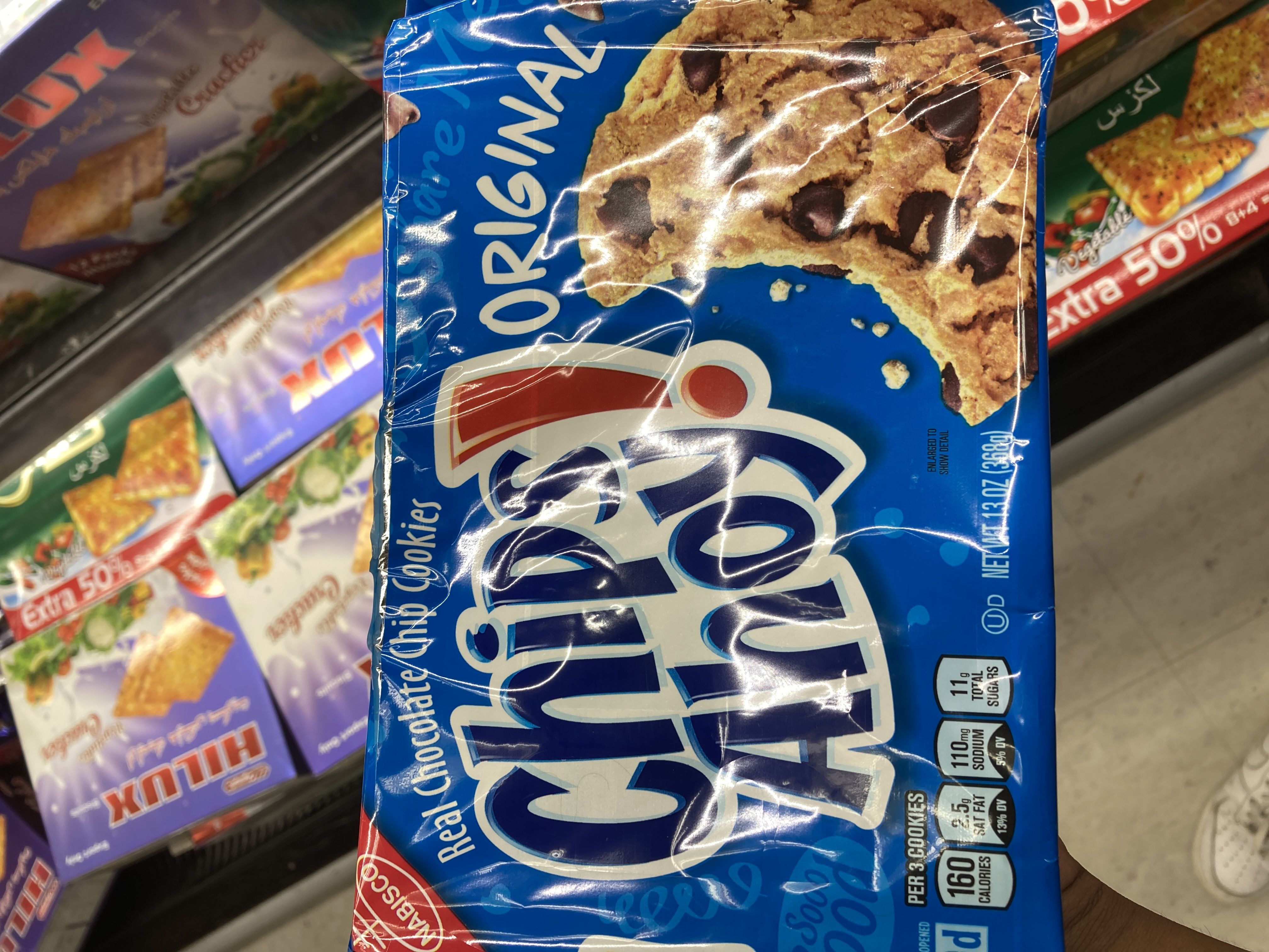 CHIPS AHOY CHOCOLATE CHIP COOKIES ORIGINAL