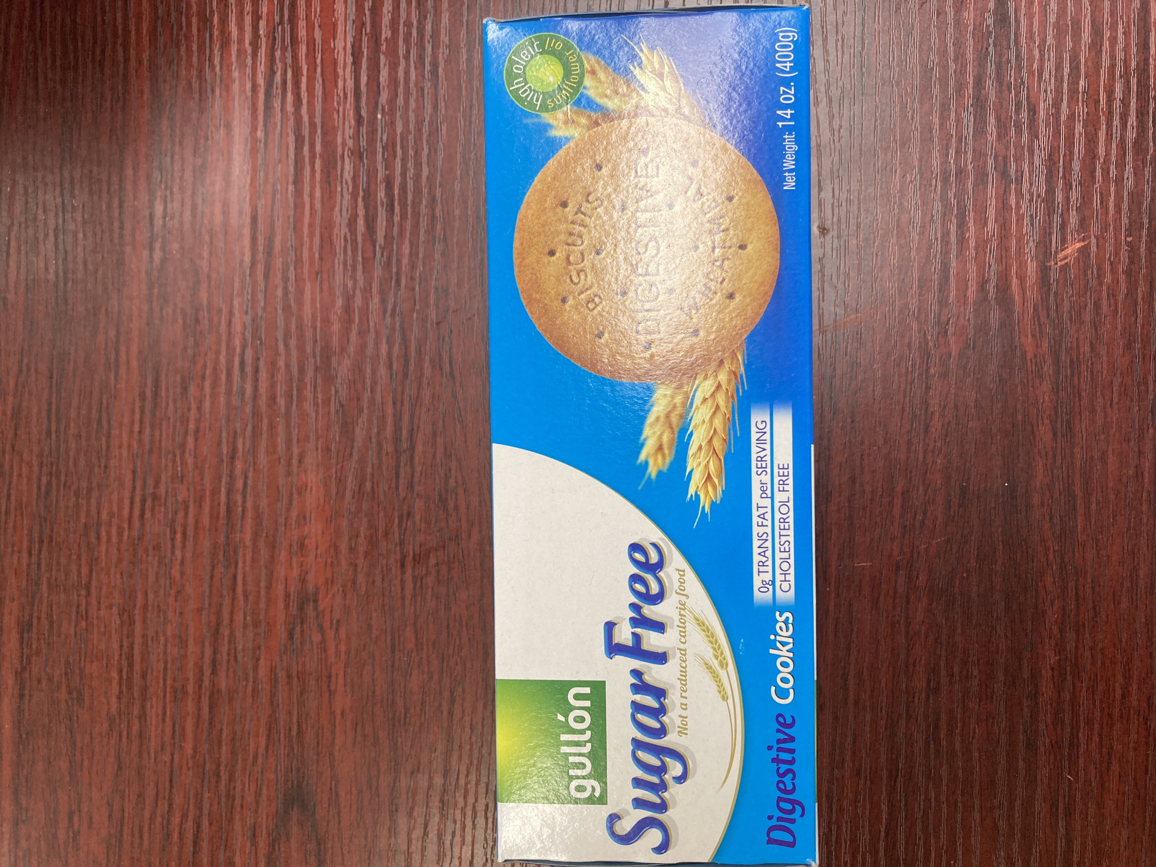 Gullon SugarFree Biscuits 400g