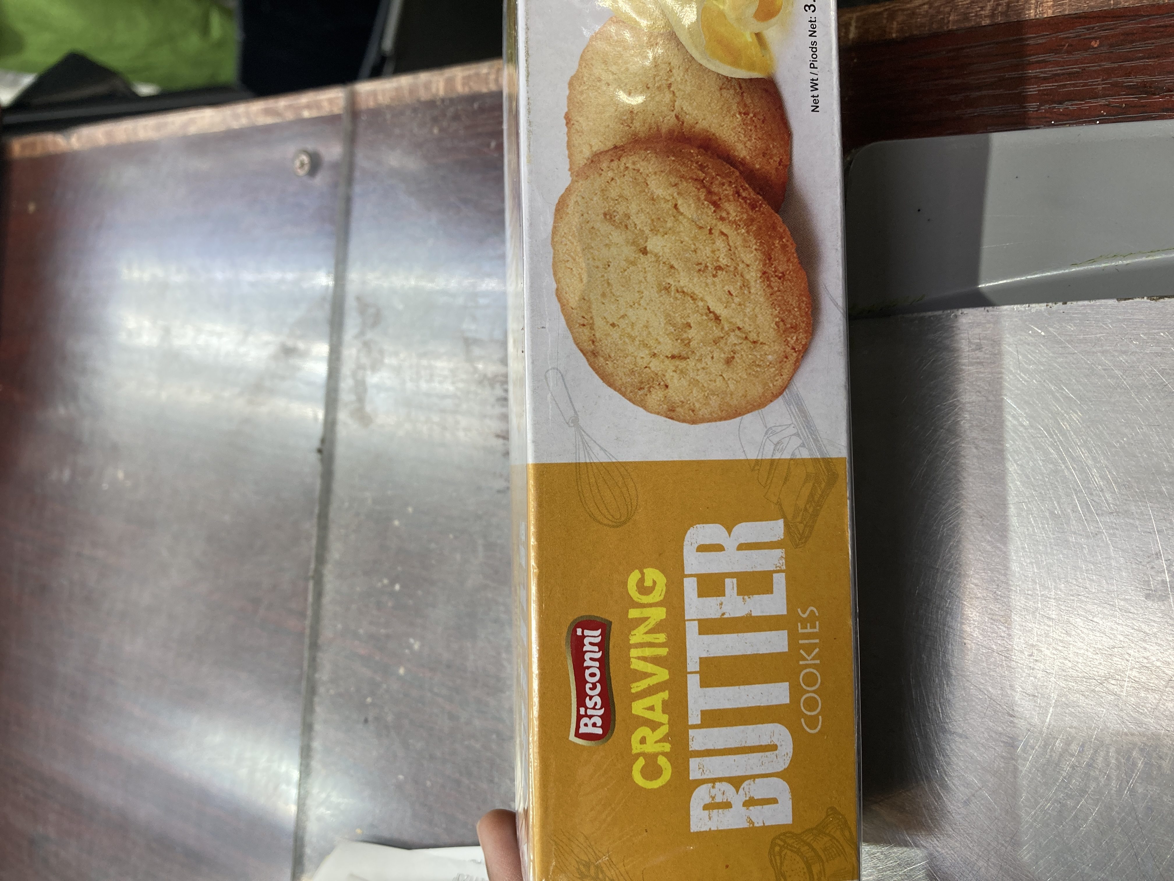 BISCONNI CRAVING BUTTER COOKIES 3.38 oz