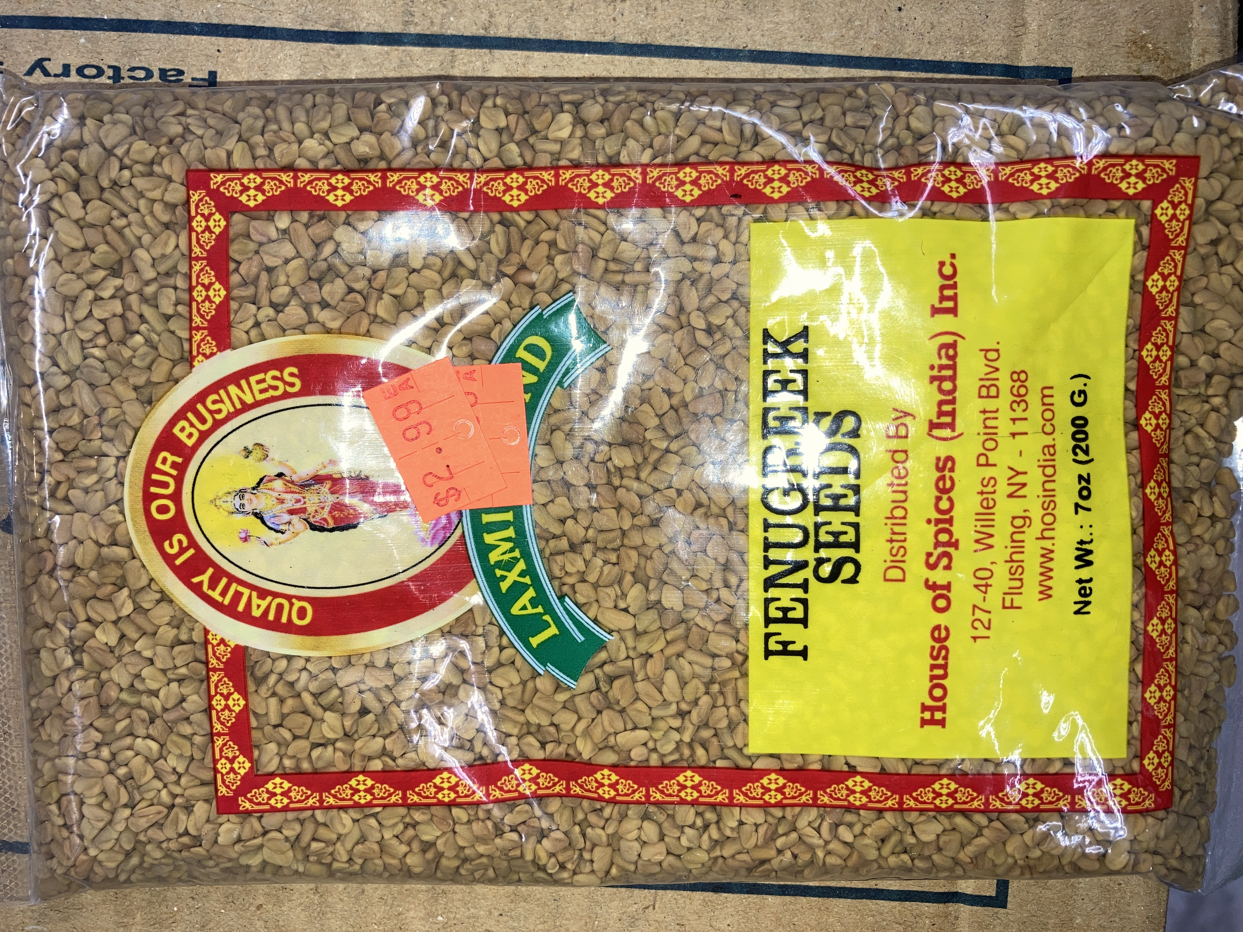 LAXMI FENUGREEK SEEDS