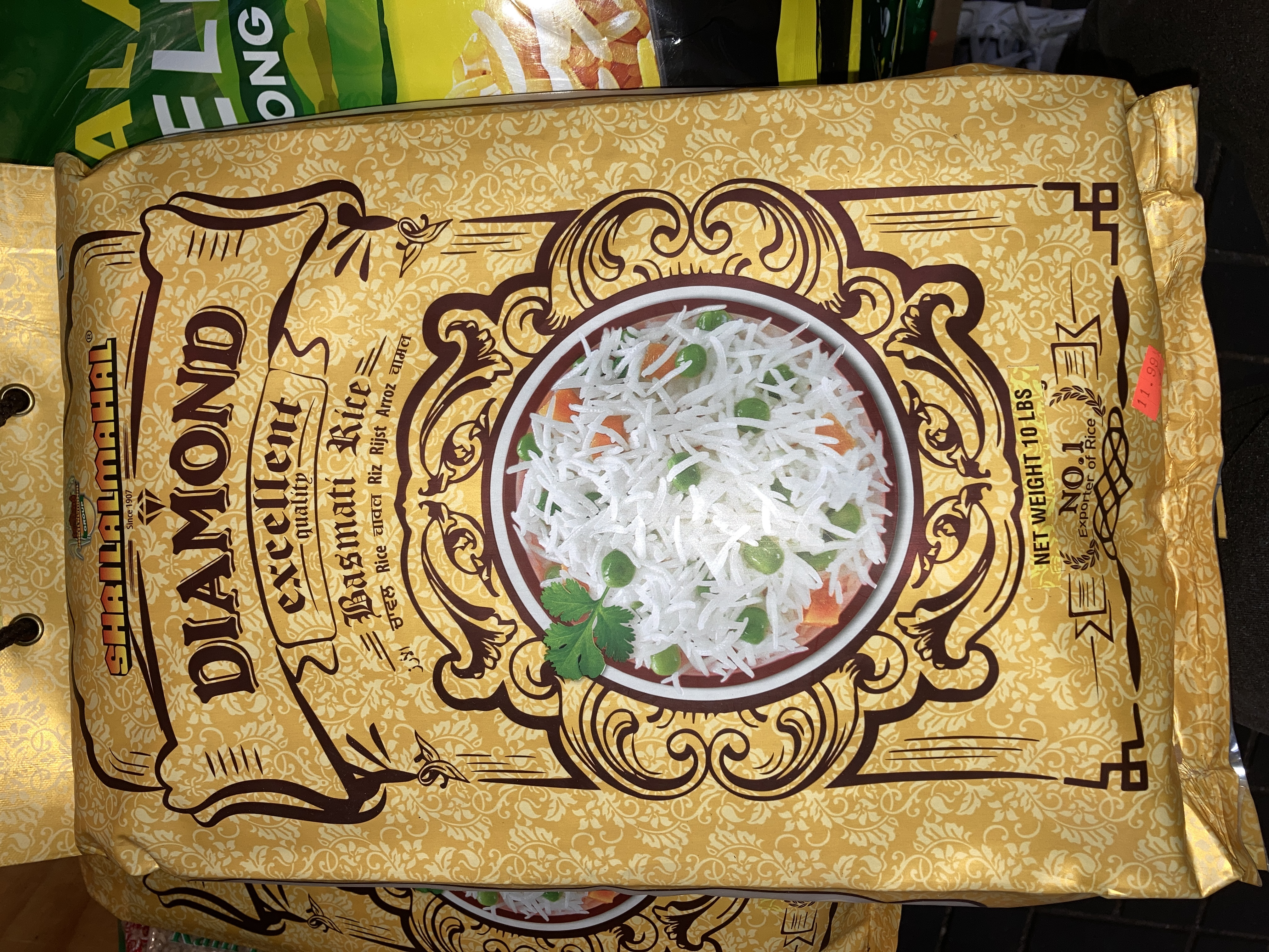 Shrilalmahal Diamond BASMATI RICE 10LBS