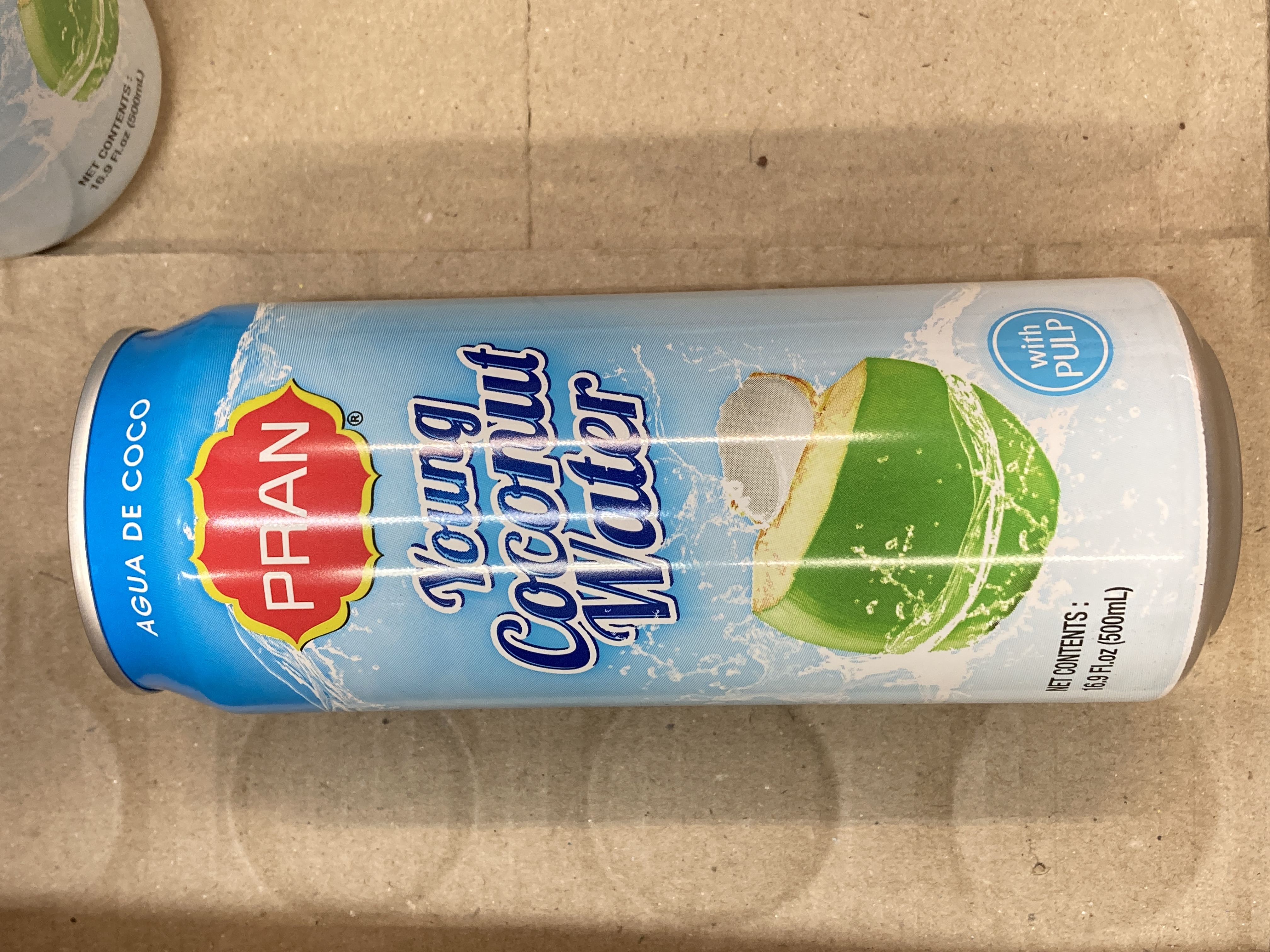 Pran Young COCONUT WATER with Pulp 500ML