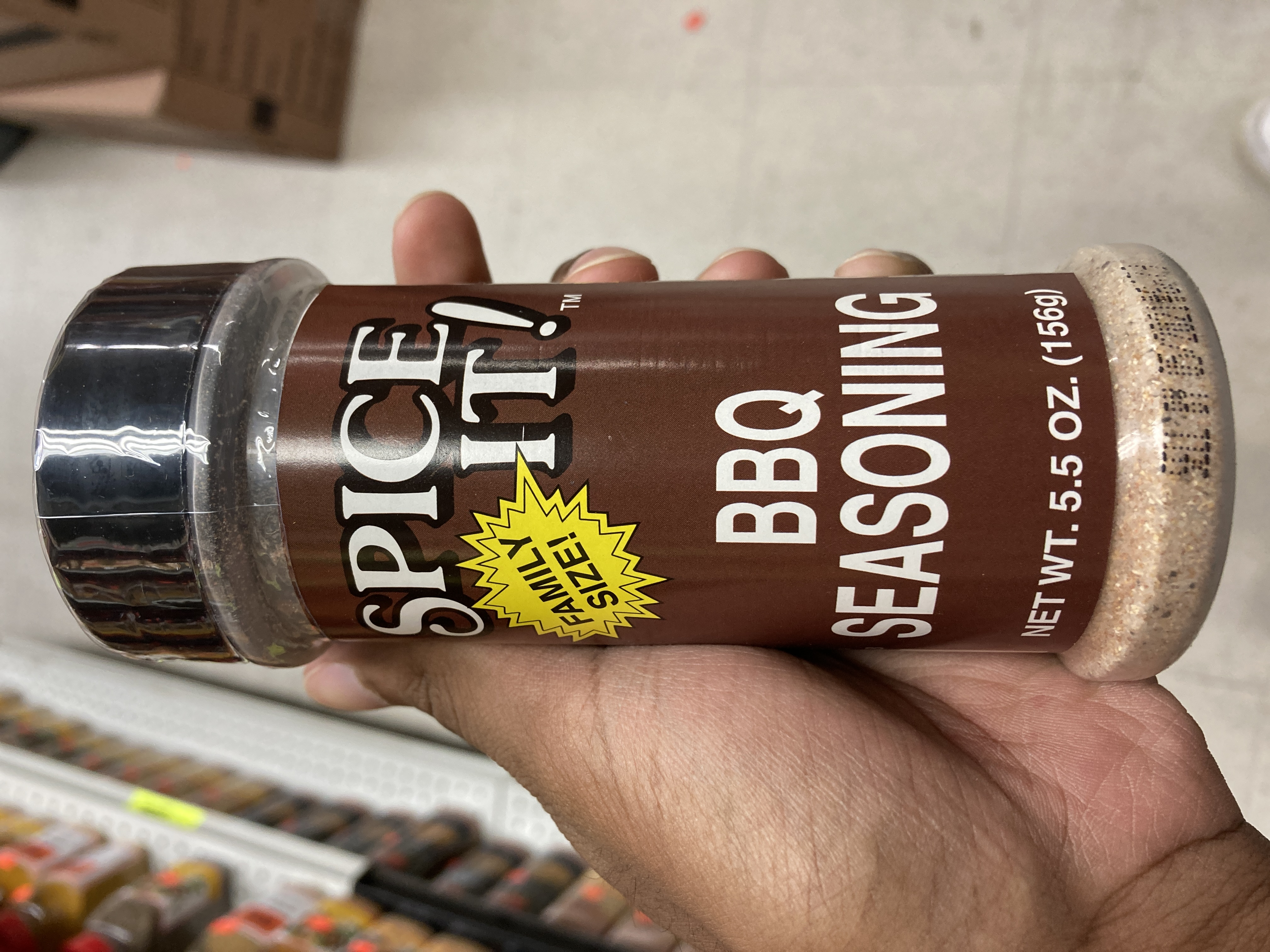 BBQ SEASONING FAMILY SIZE