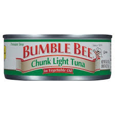 BUMBLE BEE CHUNK LIGHT TUNA IN Oil 5oz