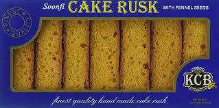 KCB CAKE RUSK Fennel Seeds 10oz