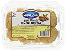 MONSOON Almomd BISCUITS 7oz