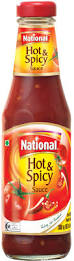 National Hot & Spicy Sauce 800g