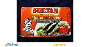 Sultan MOROCCAN SARDIN WITH TOMATO SAUCE AND HOT PEPPERS 125G