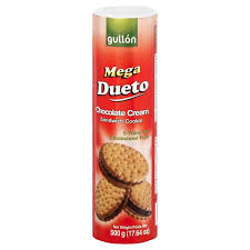 GULLON MEGA DUETO CHOCOLATE 1LB