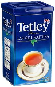 TETLEY LOOSE LEAF BLACK TEA 900gm