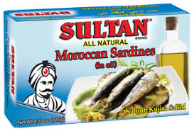 Sultan MOROCCAN Sardin IN OIL 125G