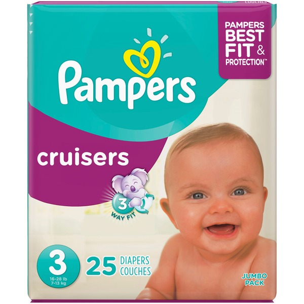 Pampers cruisers size 3 16-28 25pcs