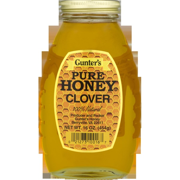 GUNTER PURE HONEY CLOVER 16 oz