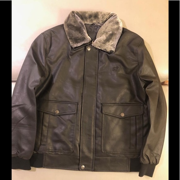 SF Leather Jacket