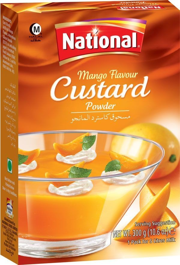NATIONAL MANGO CUSTARD POWDER (300 gm)