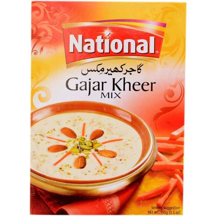 NATIONAL GAJAR KHEER MIX (155 gm)