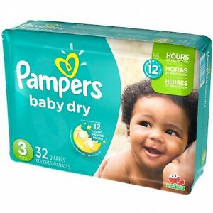 Pampers Baby Dry 32pcs Size 3 16-28lb