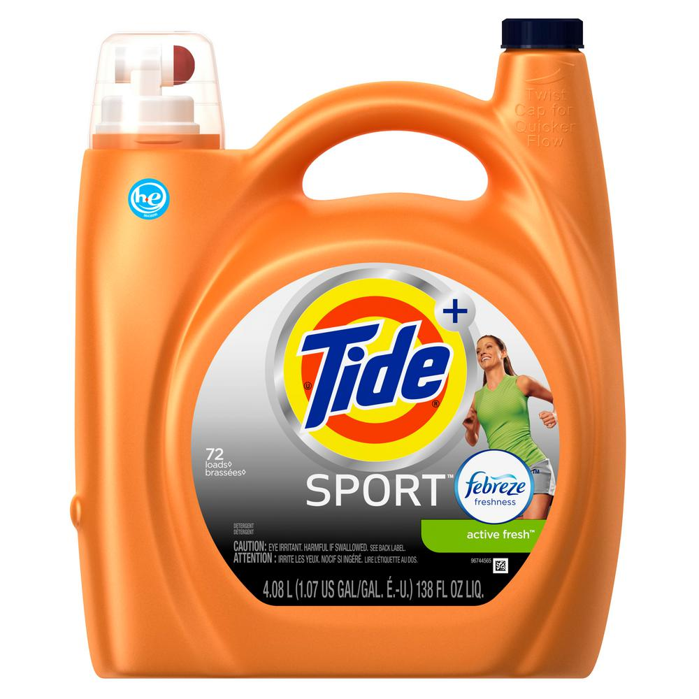 Tide Plus Febreze Sport 138 oz