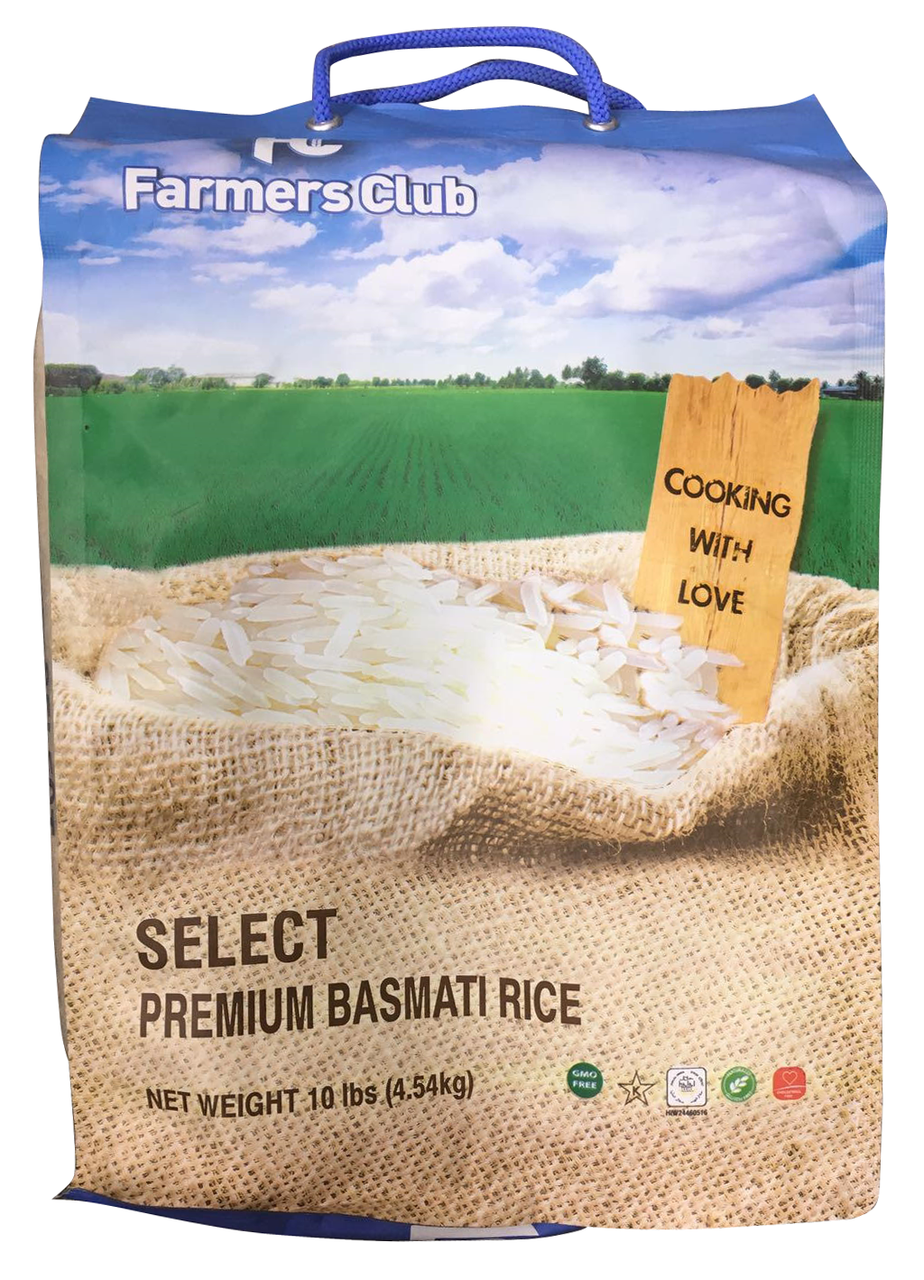 Farmers Club Premium Basmati Rice 10 LB