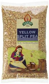 Laxmi Yellow Split Pea 8lb